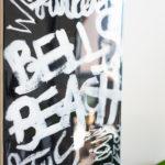 Australian beaches Skateboard Deck by Fabi Aguilar detail