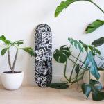 Australian beaches Skateboard Deck by Fabi Aguilar detail 3