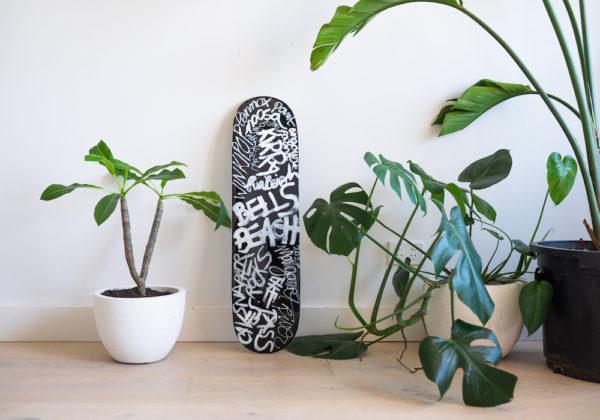 Australian beaches Skateboard Deck by Fabi Aguilar