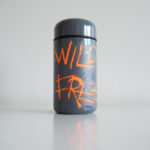 Wild Free vinyl sticker waterproof by Fabi Aguilar surf tribal illustration steel bottle